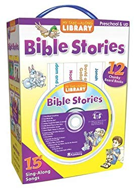 Bible Stories: 12 Chunky Board Books [With CD] 9780769655291