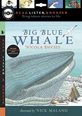 Big Blue Whale [With Paperback Book] 9780763641887