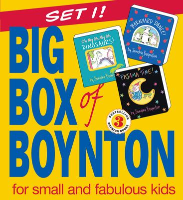 Big Box of Boynton: Barnyard Dance! Pajama Time! Oh My Oh My Oh Dinosaurs! 9780761139898