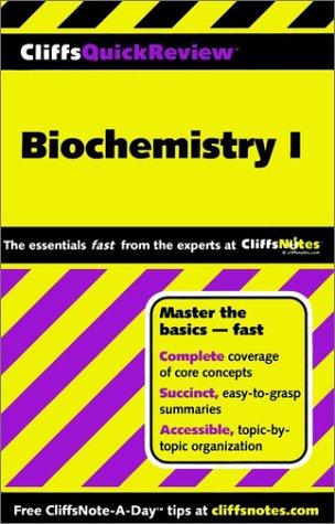 Biochemistry I 9780764585630