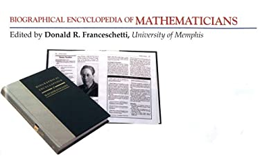 Biographical Encyclopedia of Mathematicians