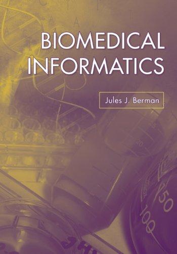 Biomedical Informatics 9780763741358