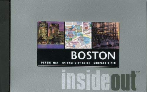 Boston Insideout [With PenWith Popout MapWith Compass] 9780762747306