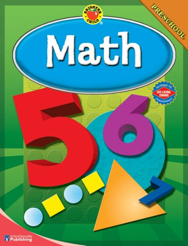 Brighter Child Math, Preschool 9780769676098