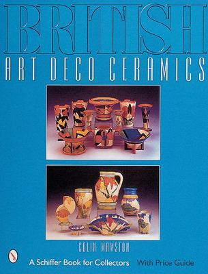 British Art Deco Ceramics 9780764310591