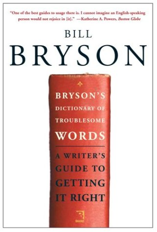 Bryson's Dictionary of Troublesome Words 9780767910422