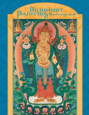 Buddhist Paintings Coloring Book 9780764950322