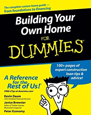 Building Your Own Home for Dummies 9780764557095
