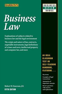 Business Law 9780764142406