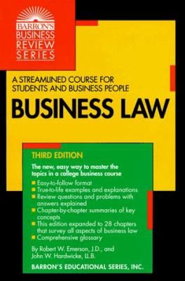Business Law 9780764101014