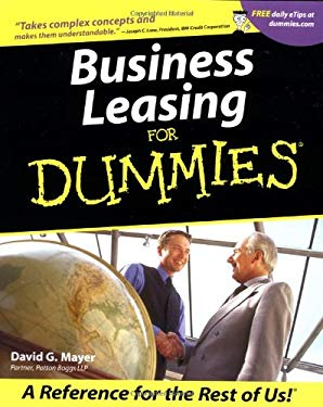 Business Leasing for Dummies. 9780764553707