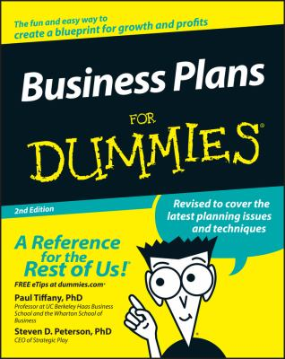 Business Plans for Dummies 9780764576522