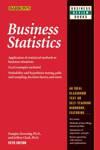 Business Statistics 9780764142390