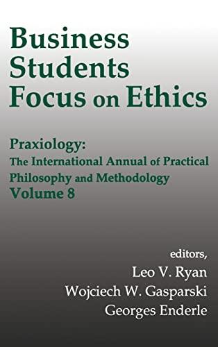 Business Students/Ethics/Prax V8 9780765800374