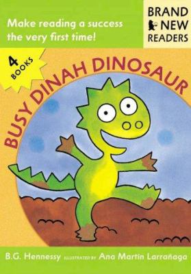 Busy Dinah Dinosaur: Brand New Readers 9780763611415