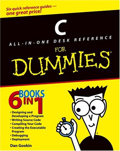 C All-In-One Desk Reference for Dummies 9780764570698