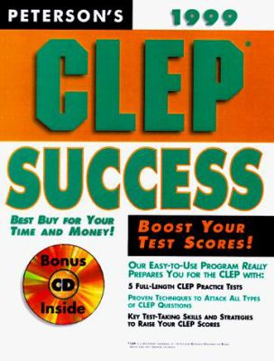 CLEP Success with CD-ROM [With Free] 9780768900231