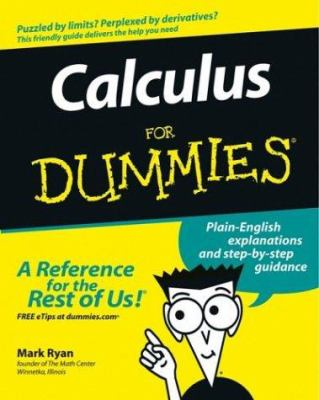 Calculus for Dummies 9780764524981