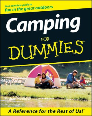 Camping for Dummies 9780764552212