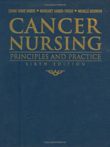 Cancer Nursing: Principles and Practice 9780763747206