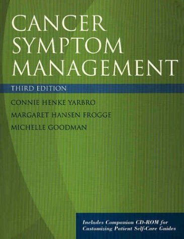 Cancer Symptom Management [With CDROM] 9780763721428
