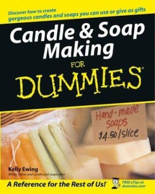 Candle & Soap Making for Dummies 9780764554964