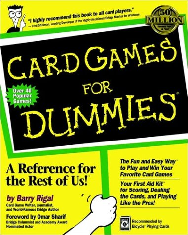 Card Games for Dummies 9780764550508