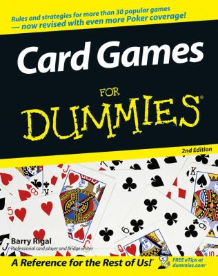 Card Games for Dummies 9780764599101