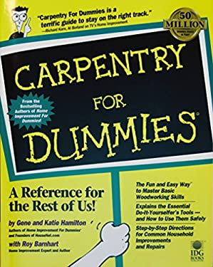 Carpentry for Dummies 9780764551758