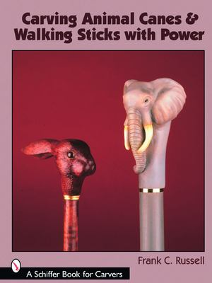 Carving Animal Canes & Walking Sticks with Power