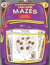 Challenge Mazes, Homework Helpers, Grade 2 2981301