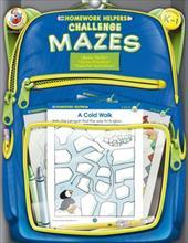 Challenge Mazes, Homework Helpers, Grades K-1 2981282