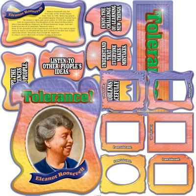 Character Education: Tolerance Bulletin Board Set 9780768225846