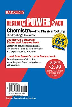 Chemistry Power Pack: The Physical Setting 9780764179471