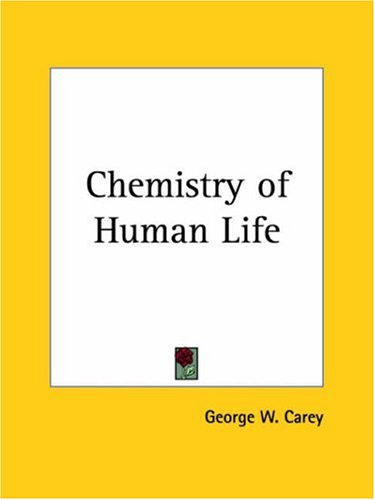 Chemistry of Human Life 9780766128408