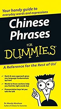 Chinese Phrases for Dummies 9780764584770