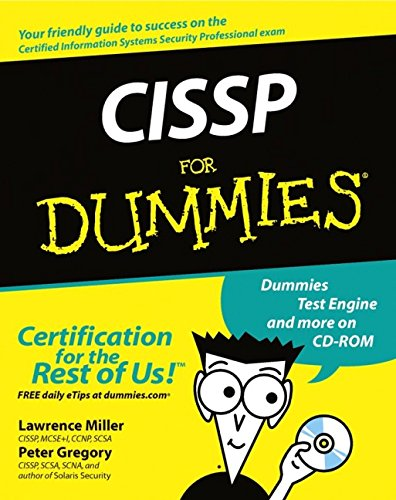 Cissp for Dummies [With CDROM] 9780764516702
