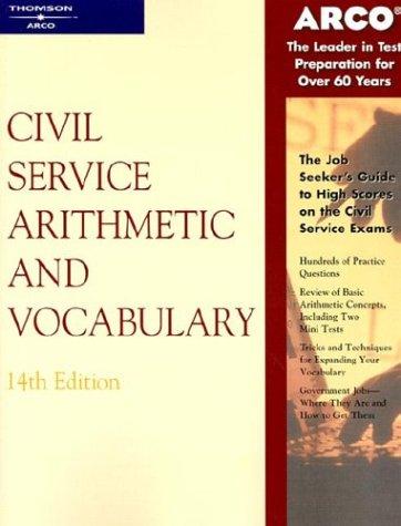 Civil Service Arithmetic & Vocab, 14 E 9780768907179