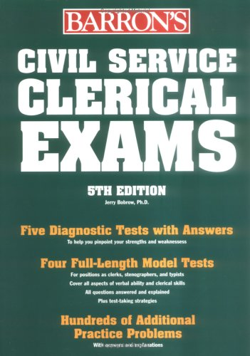 Civil Service Clerical Exams 9780764124068