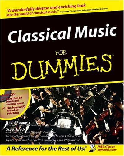 Classical Music for Dummies 9780764550096