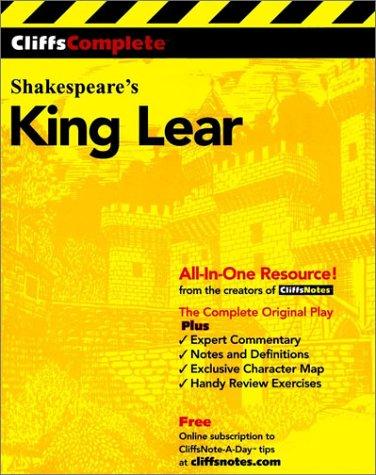 Cliffscomplete King Lear 9780764585715