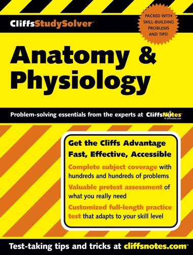 Cliffsstudysolver Anatomy & Physiology 9780764574696