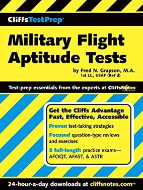 Cliffstestprep Military Flight Aptitude Tests 9780764541032