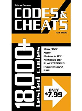 Codes & Cheats: Prima Official Game Guide 9780761560876