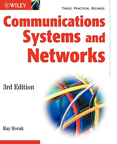 Communications Systems and Networks 9780764548994