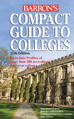 Compact Guide to Colleges 9780764144875