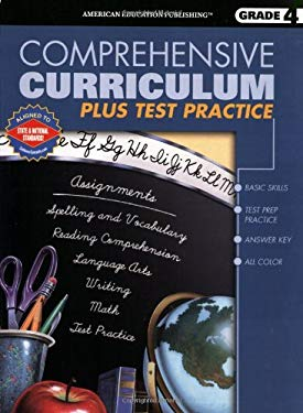 Comprehensive Curriculum Plus Test Practice, Grade 4 9780769629049