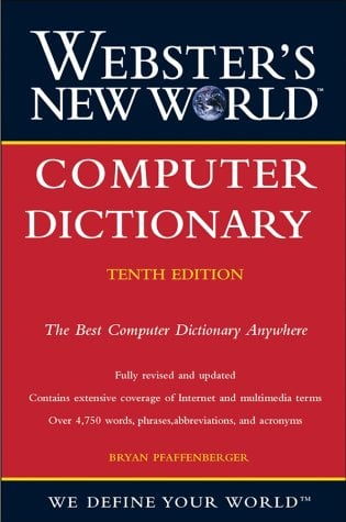 Computer Dictionary 9780764524783