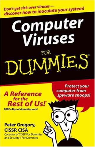 Computer Viruses for Dummies 9780764574184