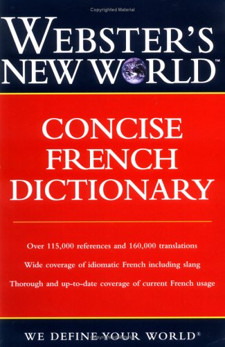 Concise French Dictionary 9780764541582